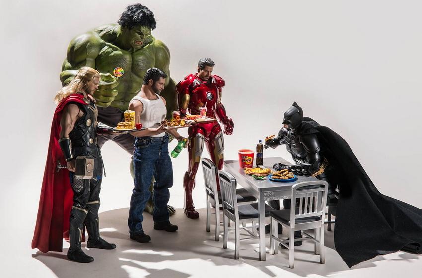 Фигурки супергероев из фильмов