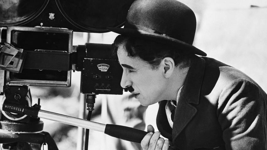 Чарли Чаплин - жанр слэпстик