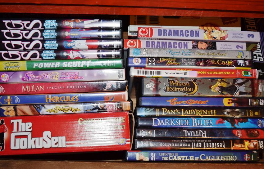 Коллекция DVD фильмов