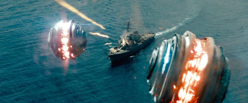 кадр из фильма морской бой
