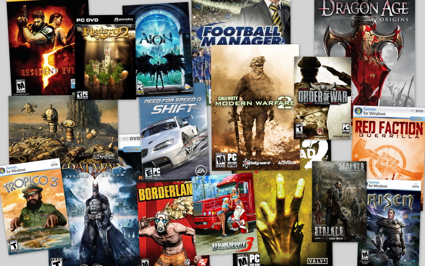Многообразие компьютерных игр