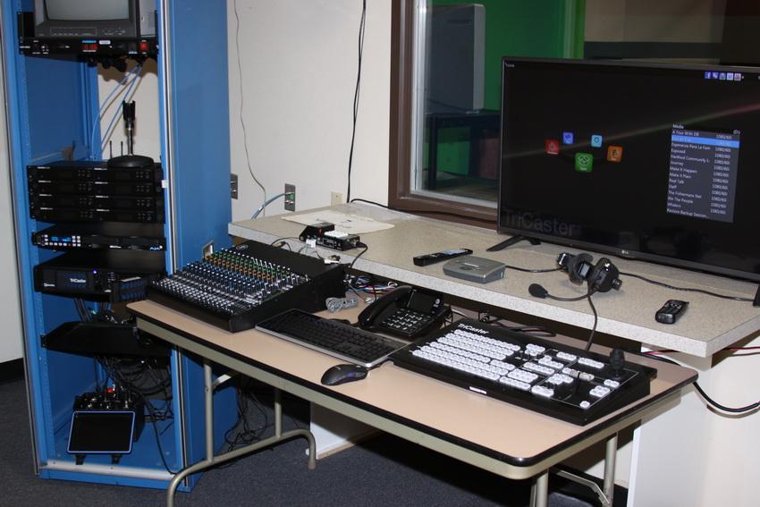 Рабочее место телепродюсера